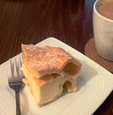 Ciasto z pagórkami ;)