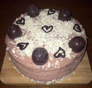 Mini-tort czekoladowy