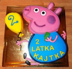 Tort świnka George