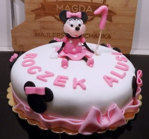 Tort z Myszką Minnie