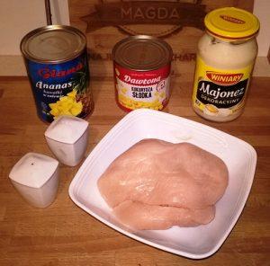 Sałatka kurczakowa 1