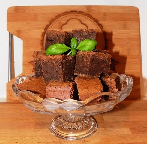 Ostatkowe brownie
