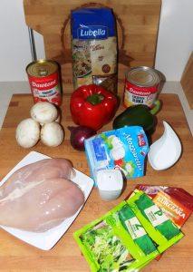 Zapiekanka kurczak 1