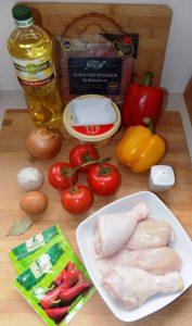 Kurczak po baskijskiu 1