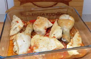 Kurczak po baskijskiu