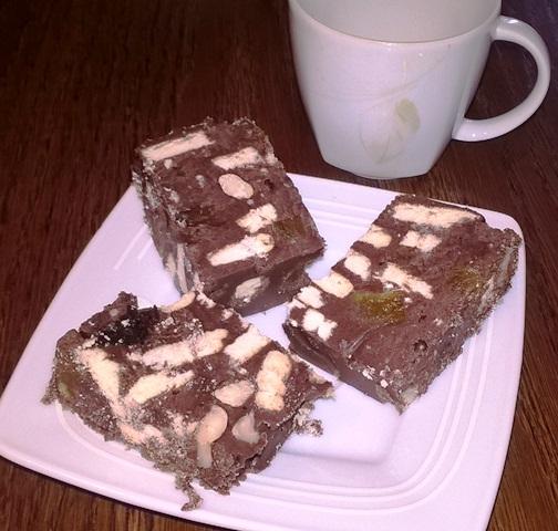 Kaszanka i kakao